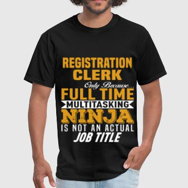 Registration Clerk - Men's T-Shirt