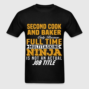 Second Cook And Baker - Men's T-Shirt