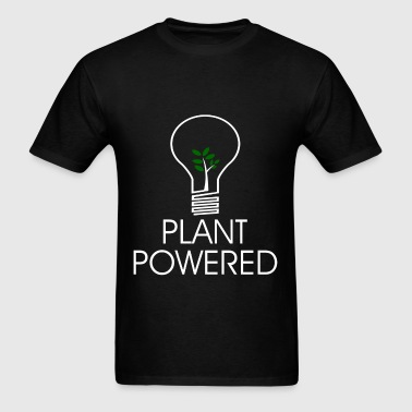 PLANT POWERED2.png - Men's T-Shirt