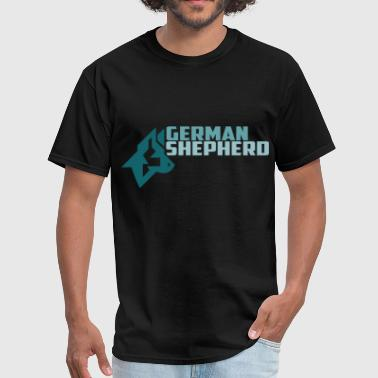 German shepherd - Men's T-Shirt