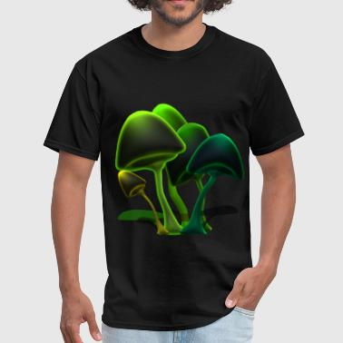 mushrooms - Men's T-Shirt