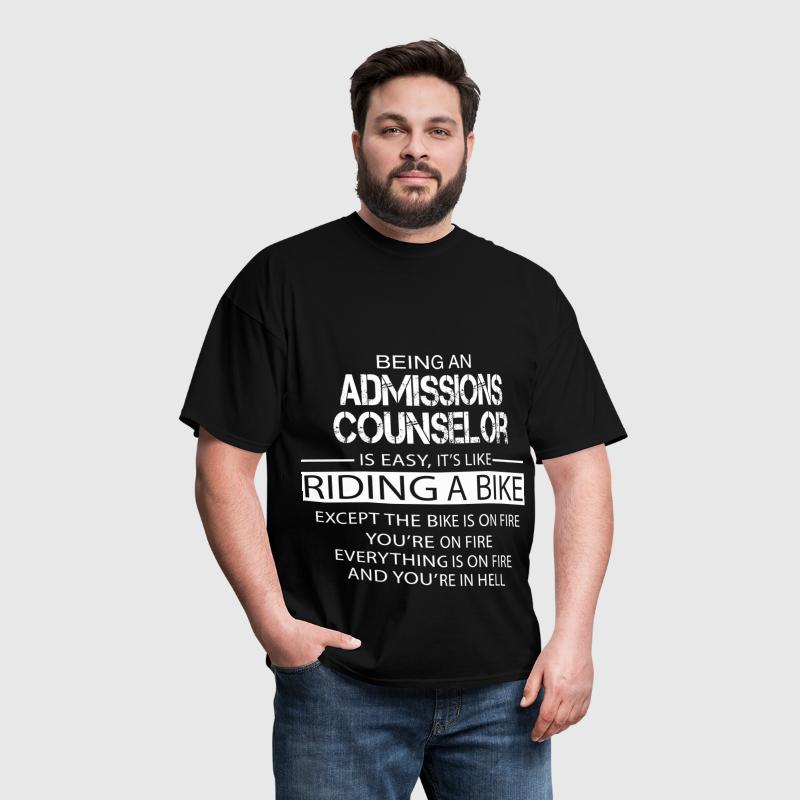 Admissions Counselor - Men's T-Shirt