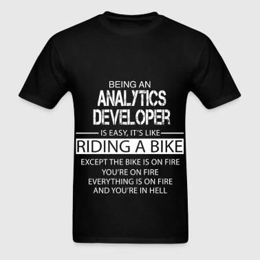 Analytics Developer - Men's T-Shirt