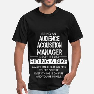 Audience Audience Acquisition Manager - Men's T-Shirt