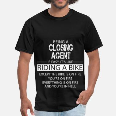 Closing Agent Closing Agent - Men's T-Shirt