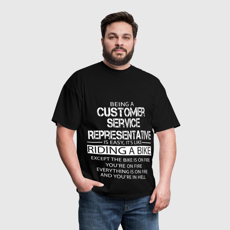 Customer Service Representative - Men's T-Shirt
