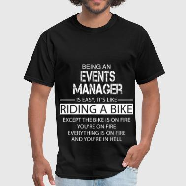 Events Manager - Men's T-Shirt