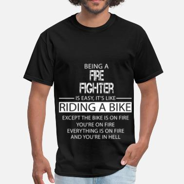 Fighter Fire Fighter - Men's T-Shirt