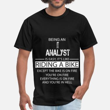 Analyst Gift IT Analyst - Men's T-Shirt