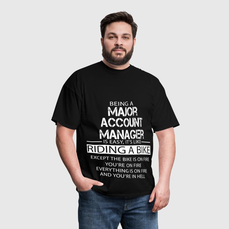 Major Account Manager - Men's T-Shirt