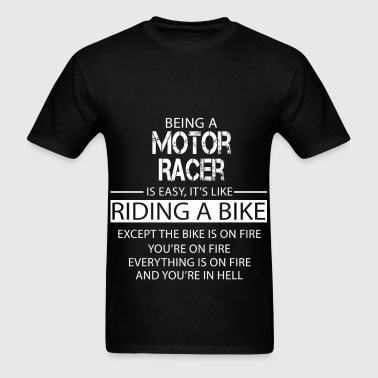 Motor Racer - Men's T-Shirt