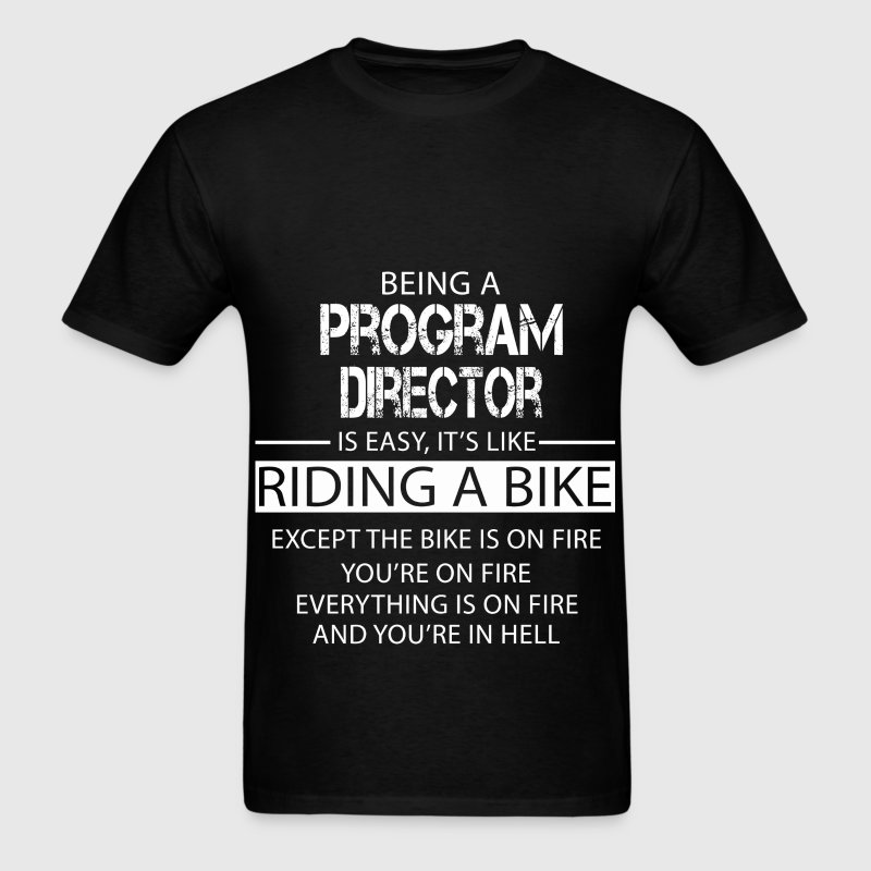 Program Director - Men's T-Shirt