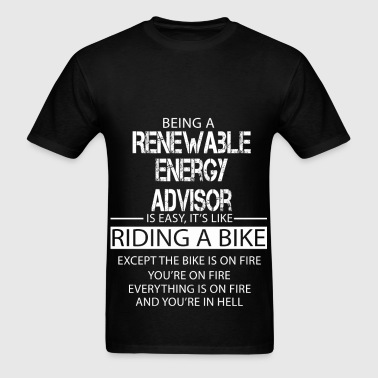 Renewable Energy Advisor - Men's T-Shirt