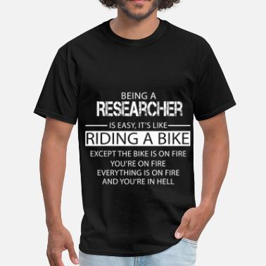 Science Research Researcher - Men's T-Shirt