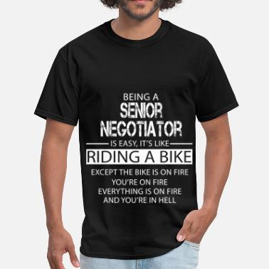 Negotiate Senior Negotiator - Men's T-Shirt