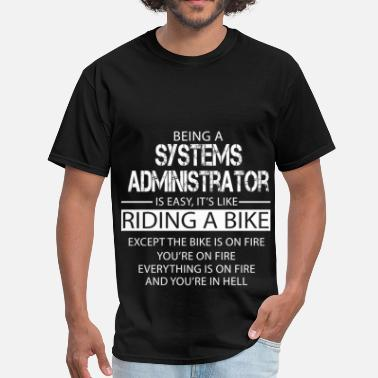 System Systems Administrator - Men's T-Shirt