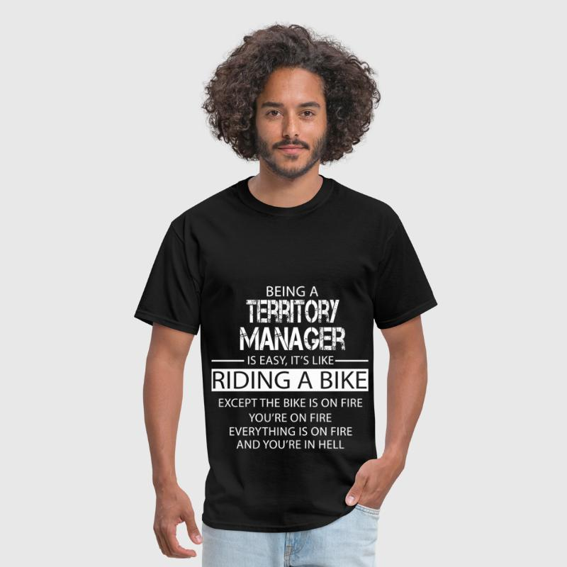 Territory Manager - Men's T-Shirt