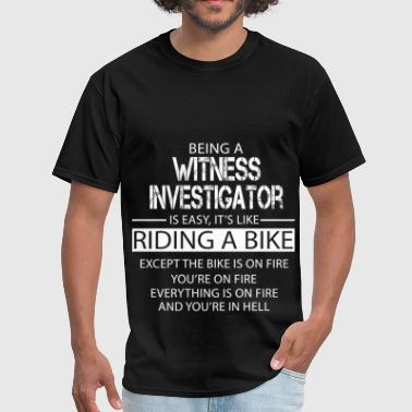 Witness Investigator - Men's T-Shirt
