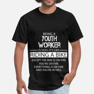 Youth Worker Funny Youth Worker - Men's T-Shirt