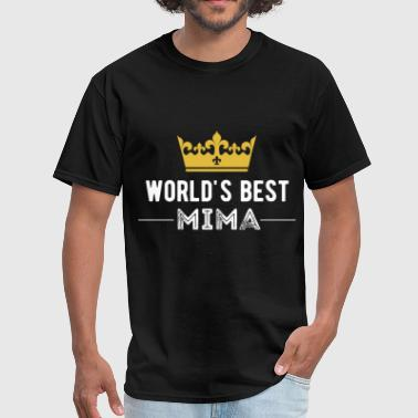 Mima World's best Mima - Men's T-Shirt