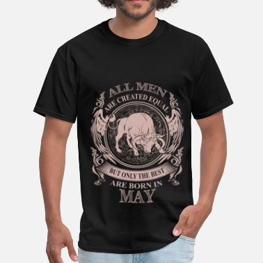 Born In May Men the best are born in May - Men's T-Shirt