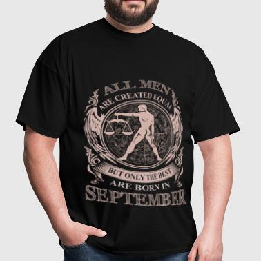 Men the best are born in September Libra - Men's T-Shirt