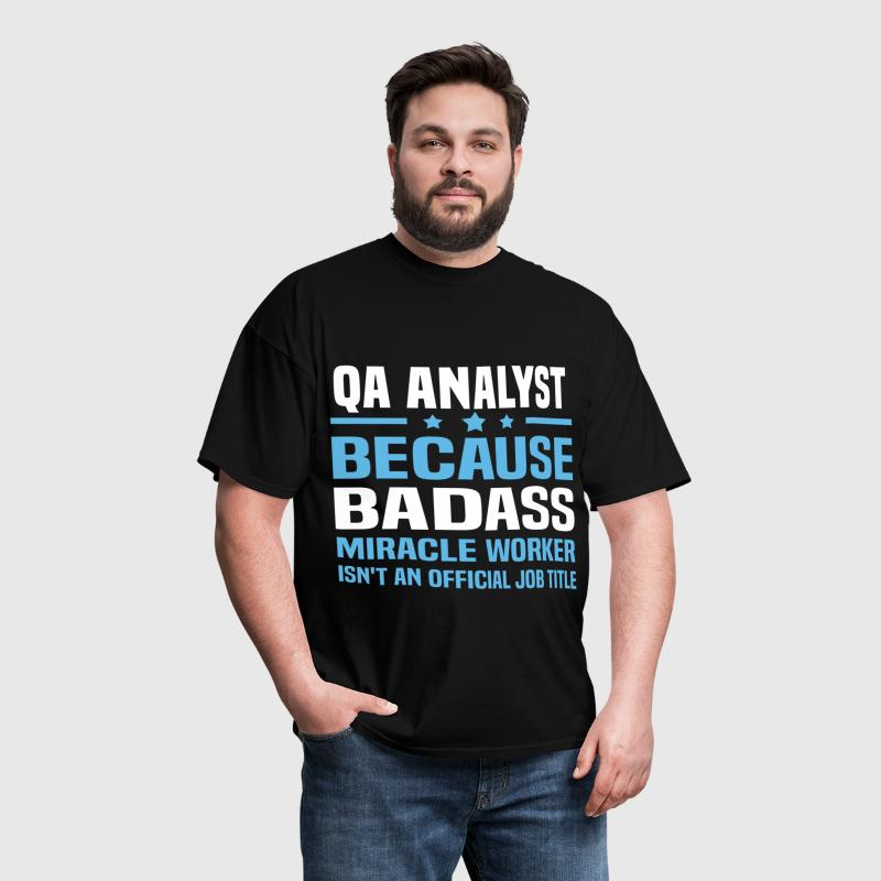 QA Analyst - Men's T-Shirt