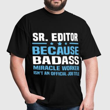 Sr. Editor - Men's T-Shirt