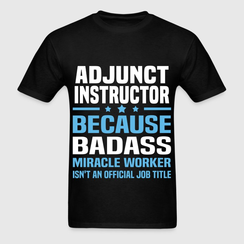 Adjunct Instructor - Men's T-Shirt