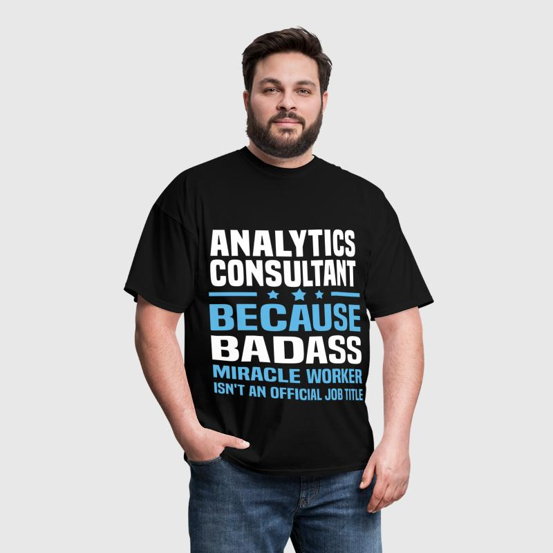 Analytics Consultant - Men's T-Shirt