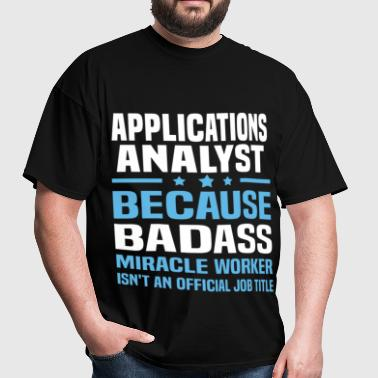 Applications Analyst - Men's T-Shirt