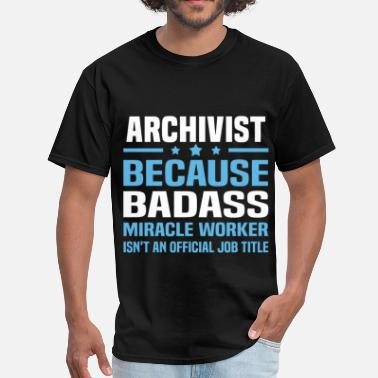 Archivist Funny Archivist - Men's T-Shirt