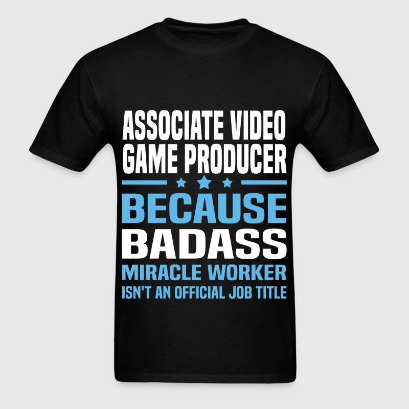 Associate Video Game Producer - Men's T-Shirt
