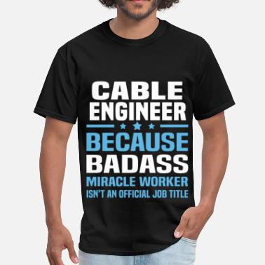 The Cable Guy Cable Engineer - Men's T-Shirt