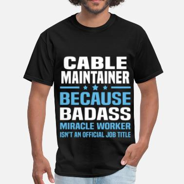 The Cable Guy Cable Maintainer - Men's T-Shirt