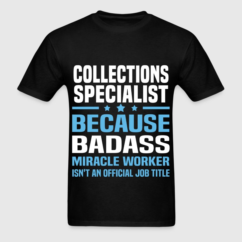 collections specialist mens t shirt
