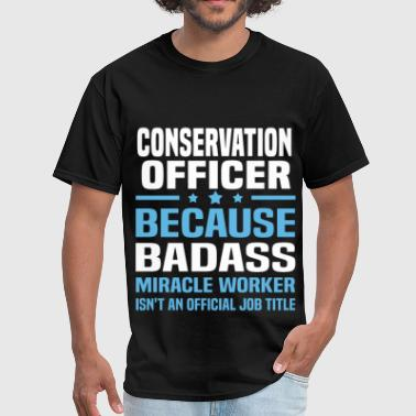 Conservation Officer - Men's T-Shirt