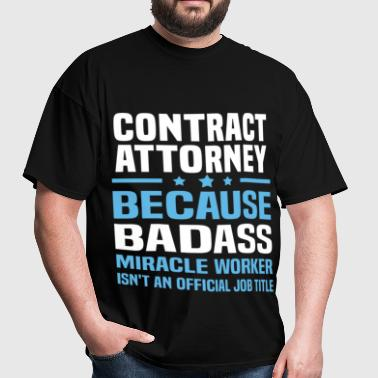 Contract Attorney - Men's T-Shirt