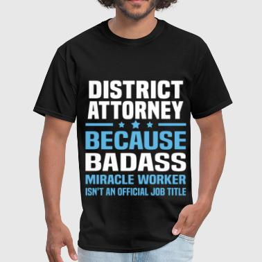 District Attorney - Men's T-Shirt