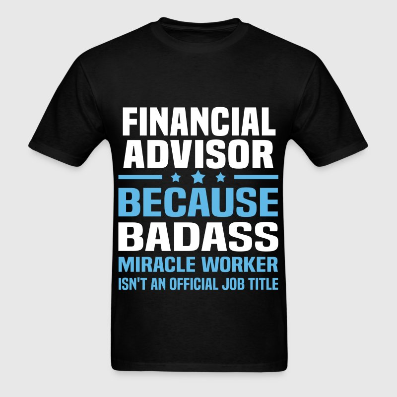 Financial Advisor - Men's T-Shirt