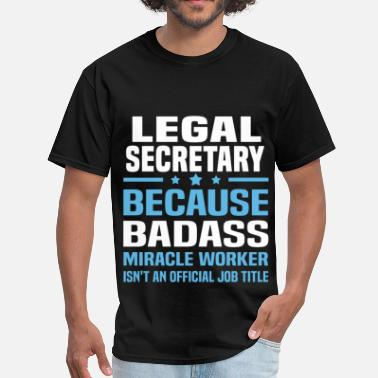 Legal Legal Secretary - Men's T-Shirt