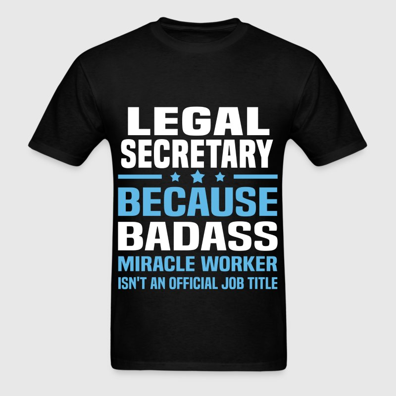 Legal Secretary - Men's T-Shirt
