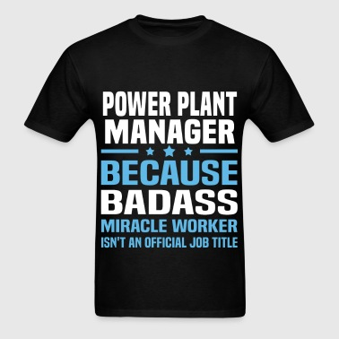 Power Plant Manager - Men's T-Shirt