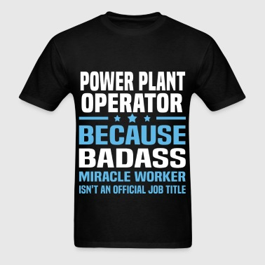 Power Plant Operator - Men's T-Shirt