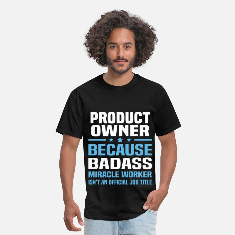 Product Owner T-Shirts - Product Owner - Men's T-Shirt black