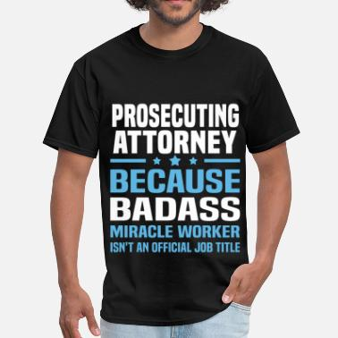 Attorney Dad Prosecuting Attorney - Men's T-Shirt