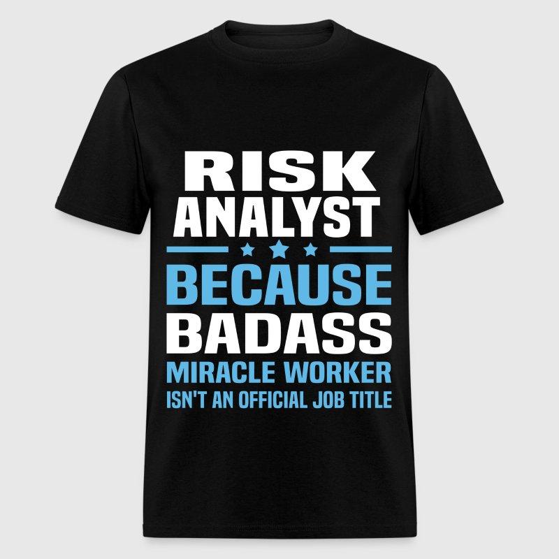 risk analyst mens t shirt
