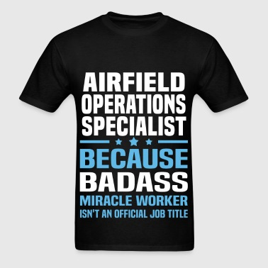 Airfield Operations Specialist - Men's T-Shirt