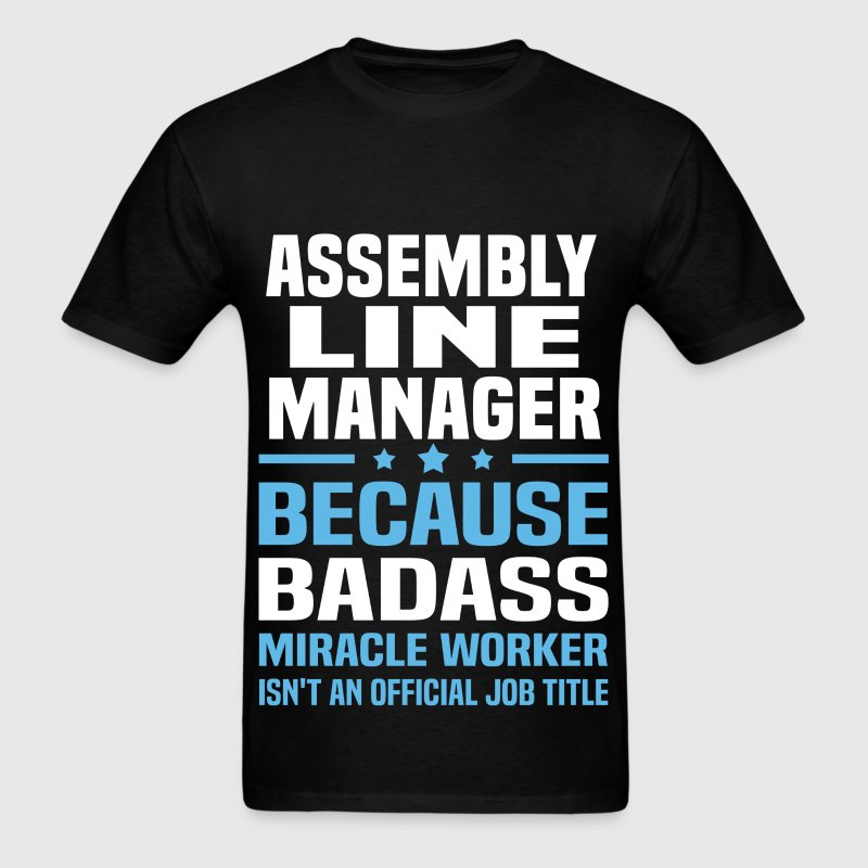 Assembly Line Manager - Men's T-Shirt