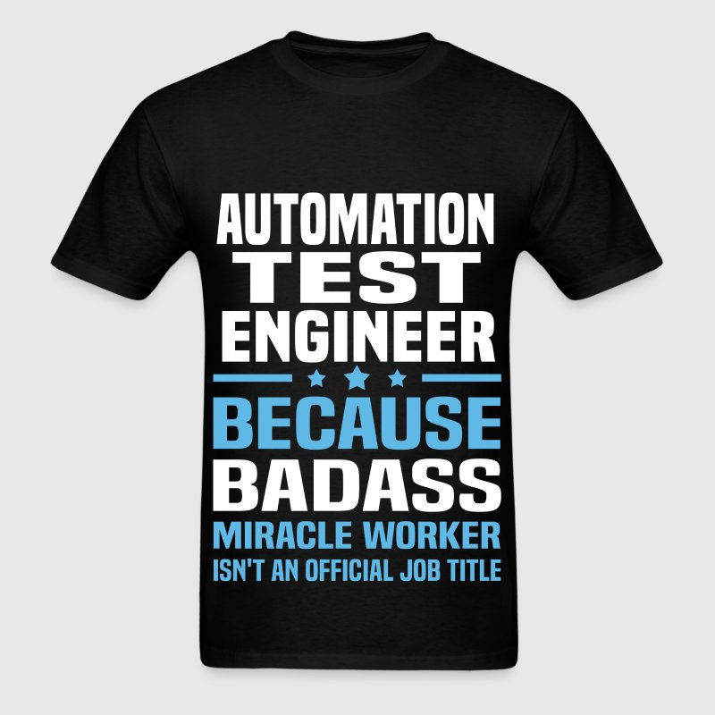 Automation Test Engineer - Men's T-Shirt